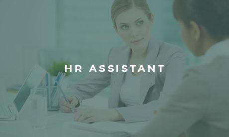 hr assistant course