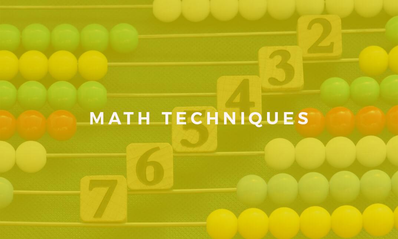 Math Techniques Course